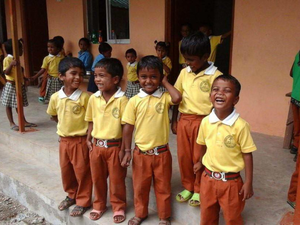 A tribal woman who founded an amazing school : Help her and the school