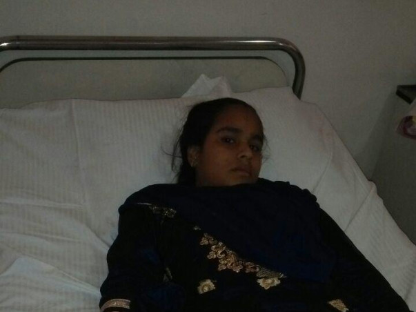 This girl can't even afford a meal and is now suffering from cancer.