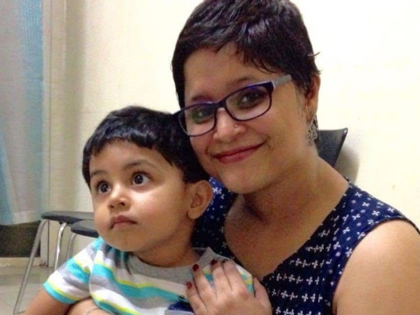 Monika, mother of a toddler is fighting cancer and she needs your help