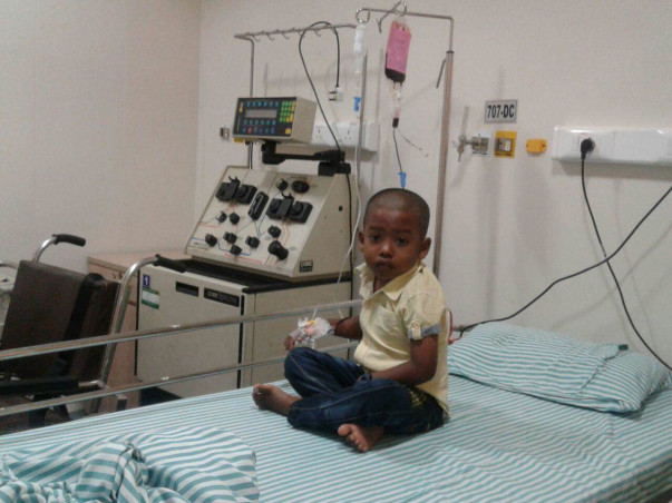 He Has Severe Anemia And Needs A Bone Marrow Transplant To Survive