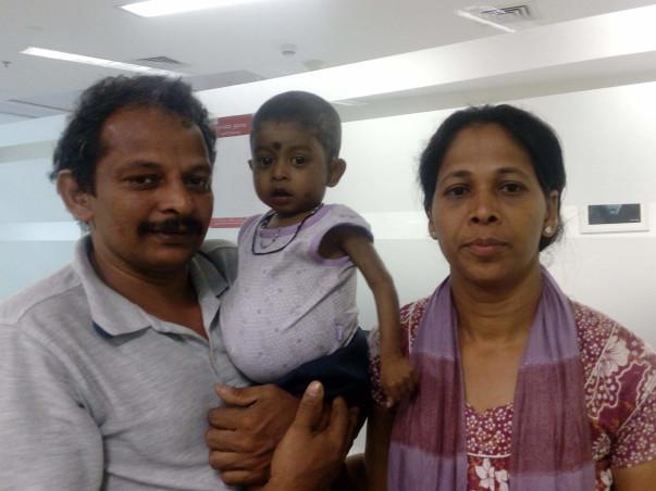 Help 1-year-old Girish undergo liver transplant