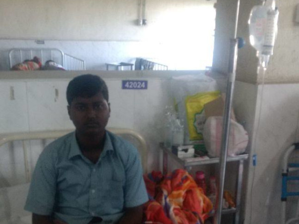 He Is Fighting A Malignancy For The Third Time, Help Save His Life