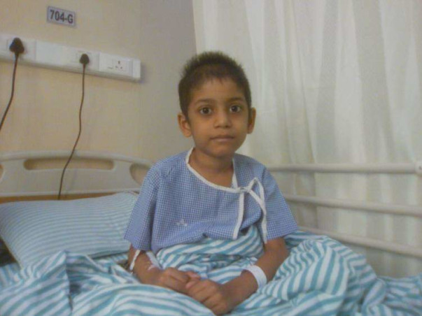 6-Year Old Pavan Needs Your Help Beating Cancer