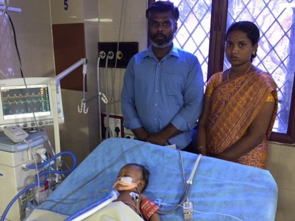 This Police Constable Is Struggling To Save His Infant Son's Life