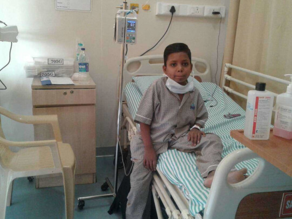 Help Girish undergo treatment for blood disorder