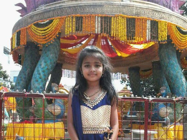 Help V.Hansika (8 Years Girl) for Brain Hemorrhage  treatment