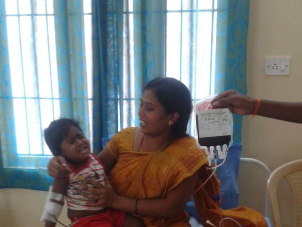 Help Sanjana Priya fight BETA THALASSEMIA MAJOR