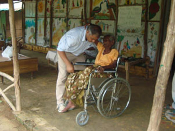 Help The Earth Saviours Foundation help over 375 senior citizens
