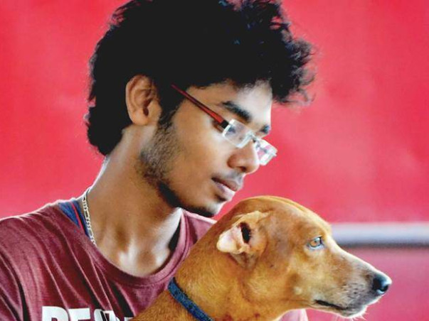 Help Ashwath Raise Funds For Rescued Dogs Arturo and Zahra