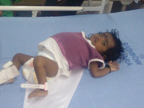 10-month-Old Rithvika Cries Herself To Sleep Every Single Night