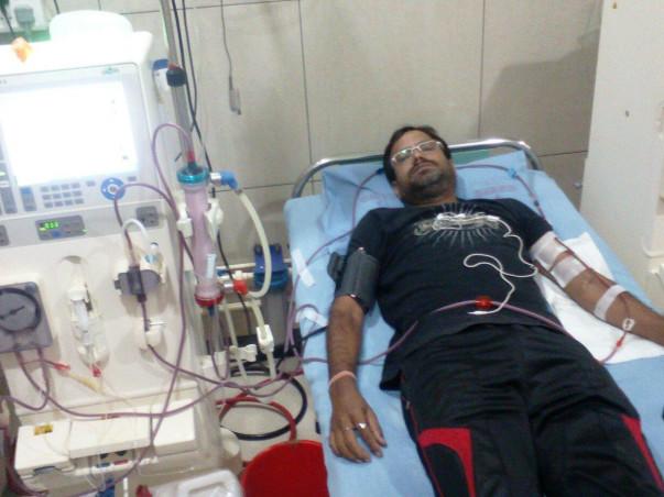Help Mazid khan for kidney transplantation.