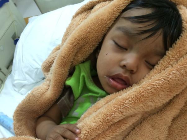 Help 2-Year-Old Saavi To Undergo Kidney Transplant