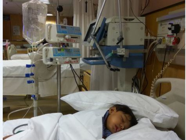Support 2-Year-Old Saavi in search of A+ donor for Kidney Transplant