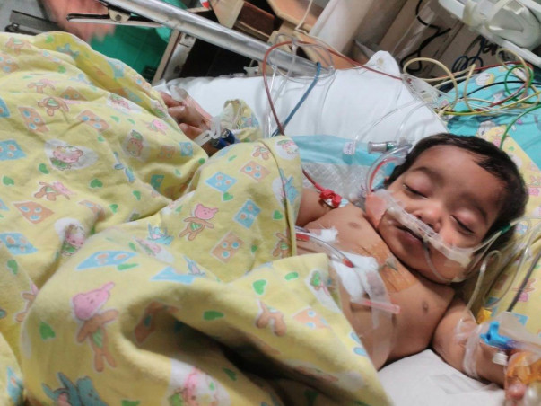 Baby Hamza Was Born With A Missing Valve In His Heart