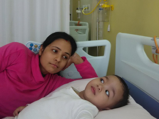 Help Baby Saanvi raise funds to get stem cell transplantation