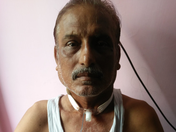 Help Prabhat Defeat Cancer And Help Him Speak And Smile Again