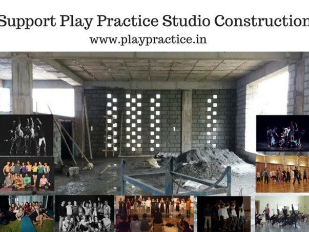 Support PlayPractice Artists Studio Construction Project