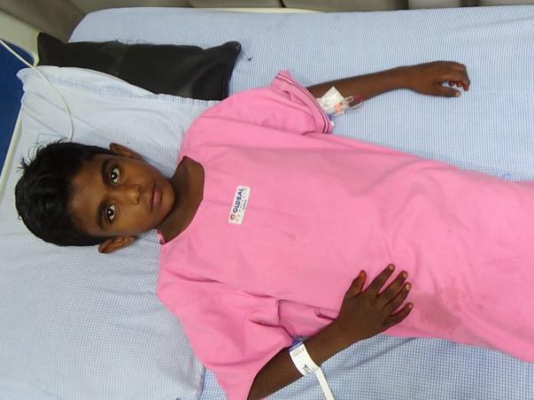 11-year-old Vishnu urgently needs a Liver Transplant
