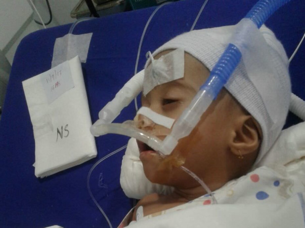 Help Baby Pranjal, Who Was Born With A Heart Defect