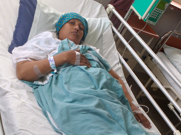 Help Naheeda Fight Cancer