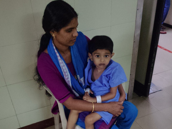 Support Baby Sreenandh's Fight Against Cancer