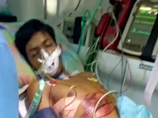 Please help Vishal to recover!