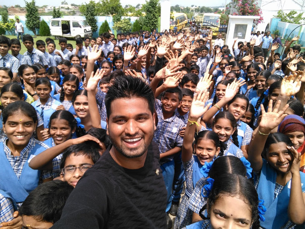Mr.Selfie title for India