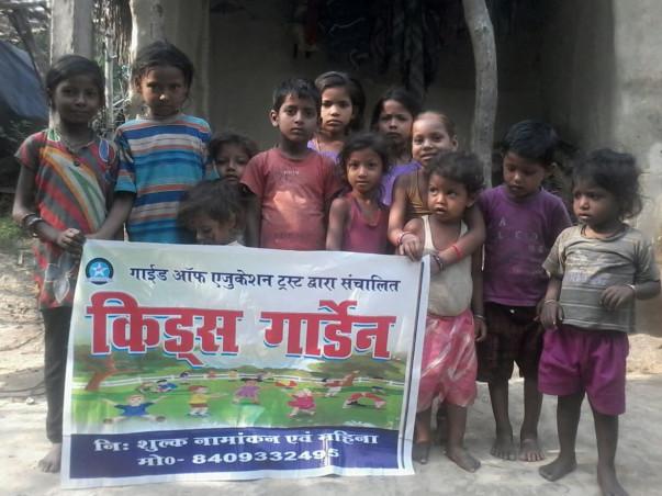 English knowledge to rural children