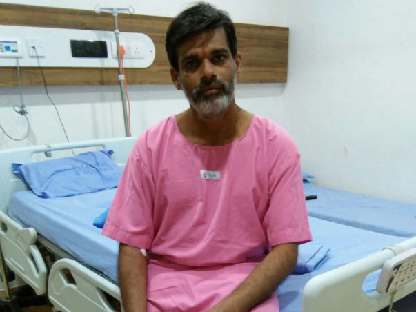 Help this brave man fight the last stage of chronic liver disease
