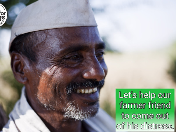 Let's help our farmer friend to come out of his distress