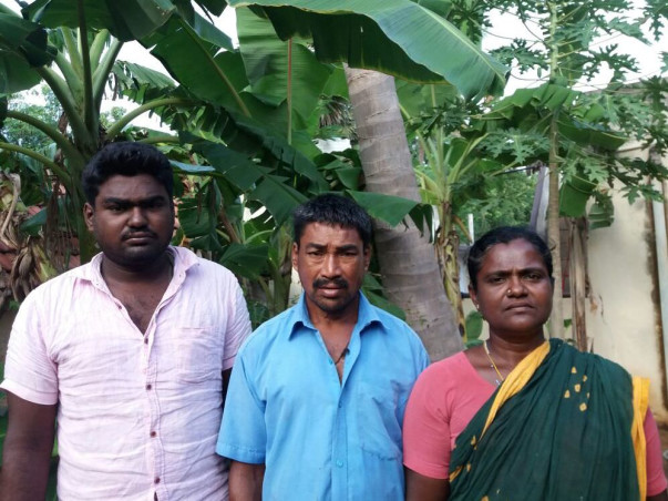 Arul needs to support his family but now battles with a heart disease