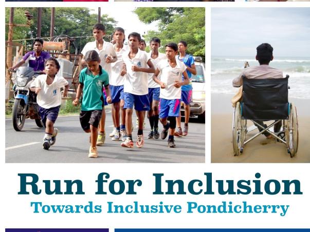 Run for Inclusion towards inclusive Puducherry -