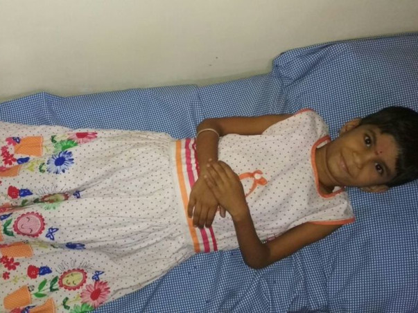 7-year Old Prashanthi Has A Heart Disease And Needs A Pacemaker