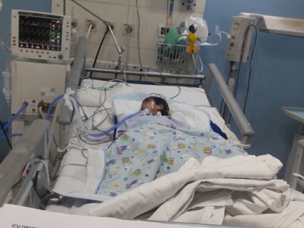 Help 1-year-old Rohit fight for his life in the ICU