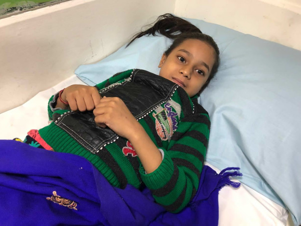 Help 9-year-old Anju fight cancer before it is too late