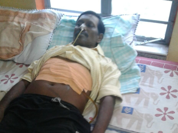 Help Me In Raising Funds For My Father's Treatment of Liver Cancer