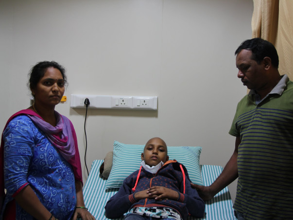 At the age of just 11 Ashritha is forced to fight cancer