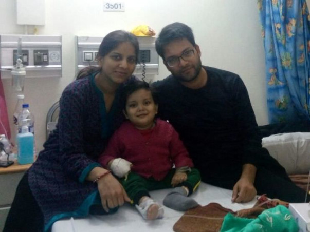 2-Year-Old Tanishq Has Cancer And Needs Urgent Help To Survive