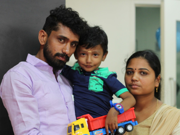 Help This Young Couple Fight Against Their Son's Cancer