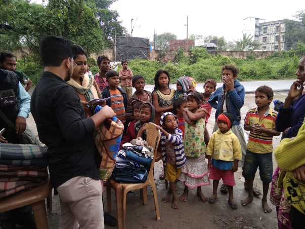 FOR DEVELOPMENT OF SLUM PEOPLE IN KALYANI