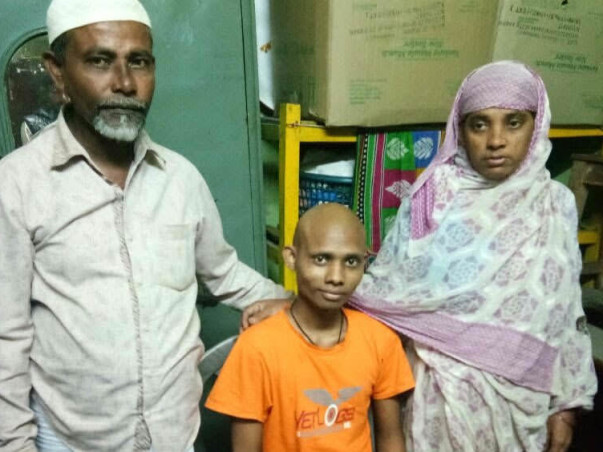 Saidul Needs To Get His Leg Amputated To Save His Life From Cancer