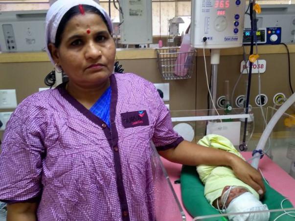Help Anitha and Ratan save their girl baby