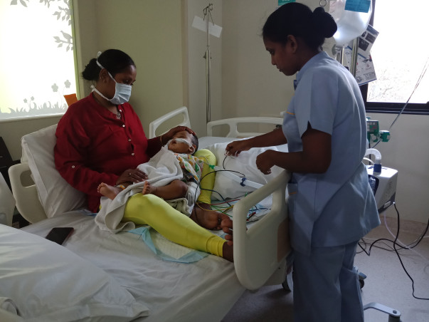 Save 6-Month-Old Baby Zyaan From A Serious Infection
