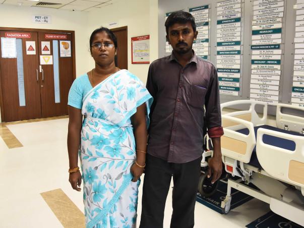 Help Larshini fight Thalassemia