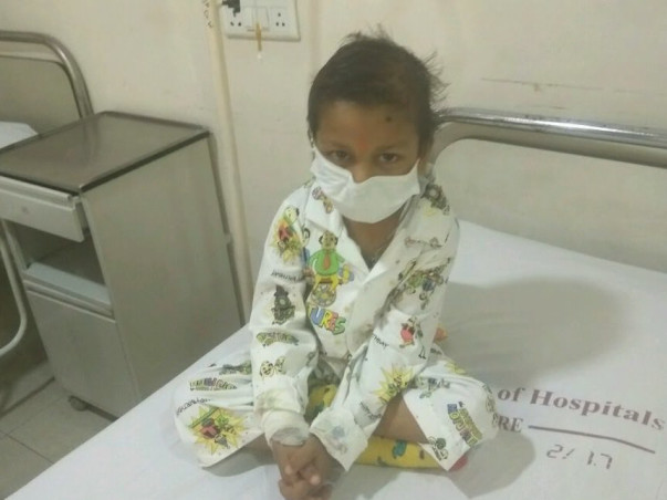 Please Help My Baby Arpan For A Bone Marrow Transplant