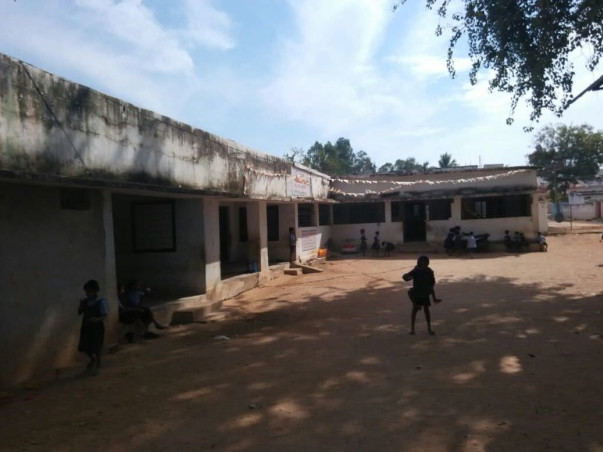 Build Toilets in a Government School