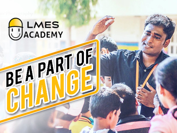 Be a part of changing the Education system of India