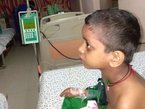 Help Shiva manage his livelihood and his child's cancer treatment