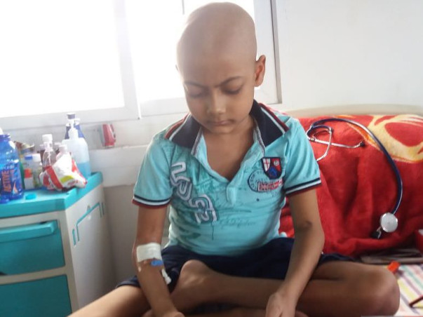 Help Shrihan to fight with blood cancer