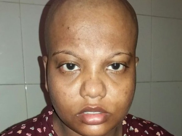 Help this 32year-old-hosewife who wants to stay alive for her husband